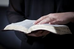 Women Study the Bible Stock Photography