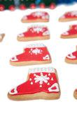 Close-up Of Christmas Cookies Stock Images