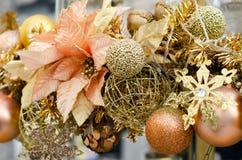Close up of Christmas decoration Stock Photos