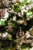 Close-Up Photo of Christmas Ornaments royalty free stock image