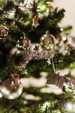Close-Up Photo of Christmas Ornaments royalty free stock photography