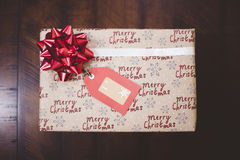 Close-up of Christmas Gift Royalty Free Stock Image