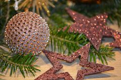 Close-up of Christmas Tree Stock Photos