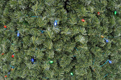 Close Up Christmas Tree Background Royalty Free Stock Photography