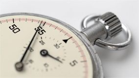 Close-up of a chronometer rotating stock video footage