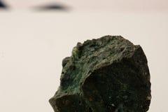 Close up of a chrysocolla. A closeup of small chrysocolla royalty free stock photo