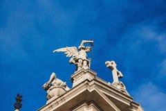 Saint Andrea Church, Brunate, Como, Italy. Stock Photo