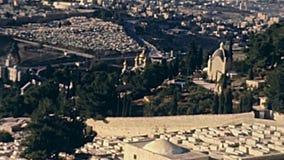 Mary Magdalene Church Jerusalem stock video footage