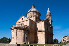 Church of San Biagio, Montepulciano, Tuscany,Italy stock images