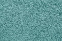 close-up ciano da superfície de toalha da cor com efeito do borrão imagem de stock