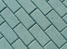 Close-up ciano do pavimento da pedra da cor fotos de stock royalty free