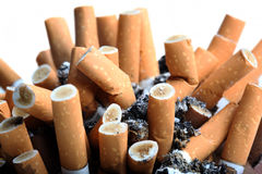 Close up of cigarettes Royalty Free Stock Image