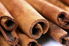 Close-up cinnamon stick spices Royalty Free Stock Image