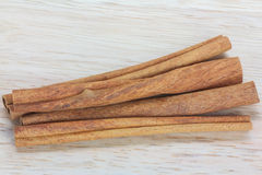Close up cinnamon stick Stock Photos