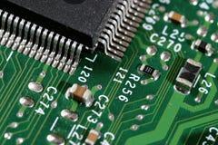 Close up of circuit board Stock Photos