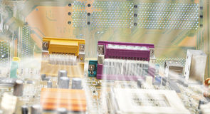 Close up of circuit board Stock Photos