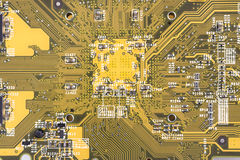 Close up of circuit board Royalty Free Stock Photography
