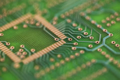 Close up of circuit board royalty free stock photos