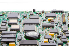 Close up of a circuit board Stock Photography
