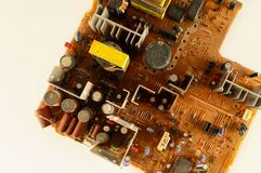 Close-up of circuit pc board Stock Image