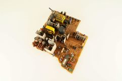 Close-up of circuit pc board Royalty Free Stock Image