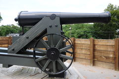 Cannonball Gun. Royalty Free Stock Image