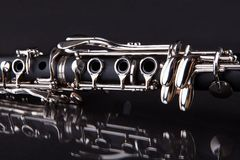 Close-up of clarinet Stock Image