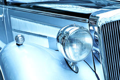 Close up of a classic car Stock Images
