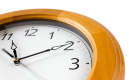 Close-up of Classic Clock Stock Image