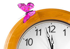 Close-up of Classic Clock Royalty Free Stock Photo