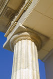 Close-up of classic columns Stock Photo