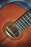 Close up of a classic guitar in hdr Stock Images