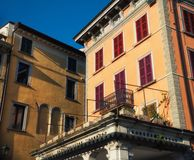 Close up on classical italian building Royalty Free Stock Photos