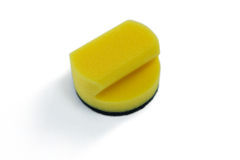 Close up of cleaning sponge Royalty Free Stock Photography