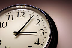 Close-up of clock Royalty Free Stock Photography