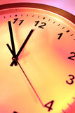 Close up of clock Stock Photos