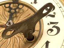 Close up clock Royalty Free Stock Photos