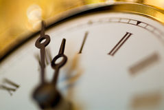 Close up of clock Stock Photos