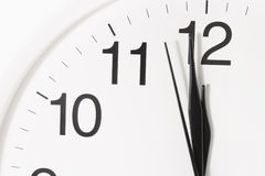 Close-up of Clock Face Stock Photography