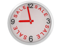 Close-up Clock sale Stock Photos