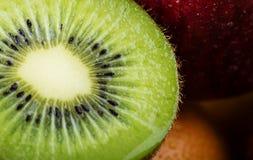 Close up close up kiwi fruit Royalty Free Stock Photo