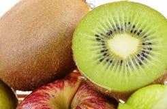 Close up close up kiwi fruit Stock Images