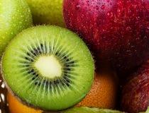 Close up close up kiwi fruit Stock Photography