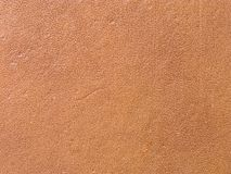 Close up of a closed book with leather brown cover Stock Images