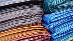 Close-up, Cloth, Colorful stock image
