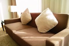 Close Up Of Cloth Sofa Stock Image