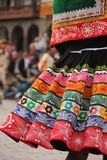 Traditional clothing at a festival royalty free stock photography