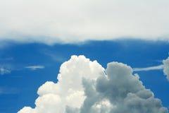 Cloud modification before raining royalty free stock photos
