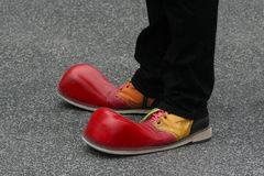 Clowns Feet Stock Images