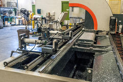 Close up of CnC machine Stock Images